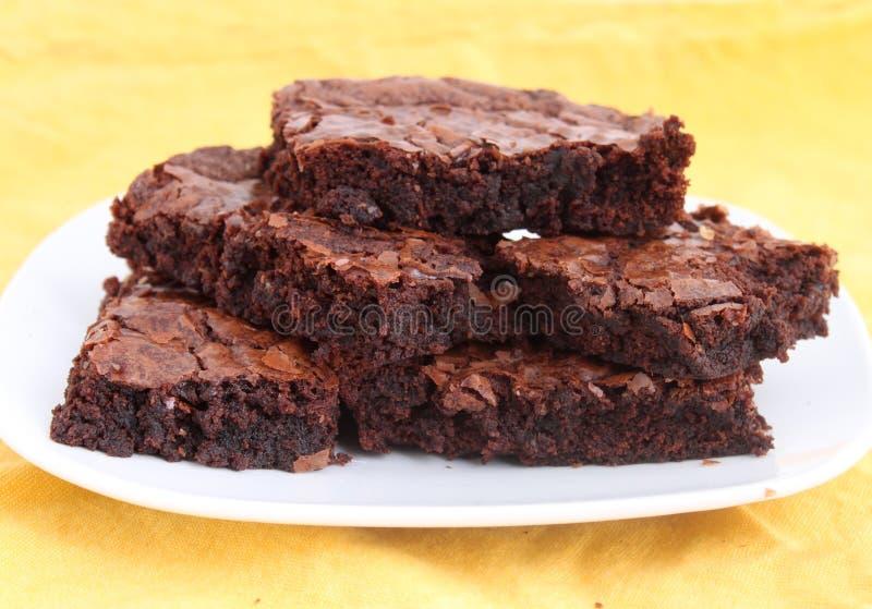 Brownie immagine stock