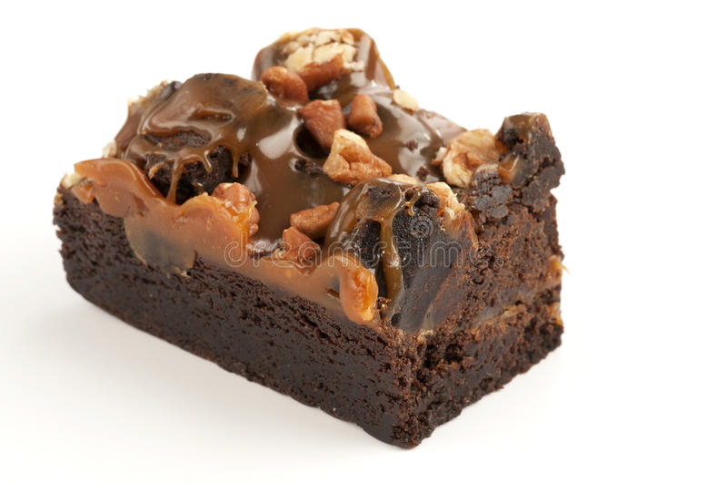 Brownie stock foto