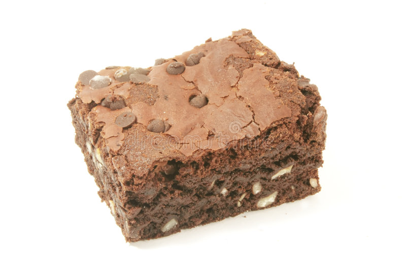 Brownie royalty free stock image