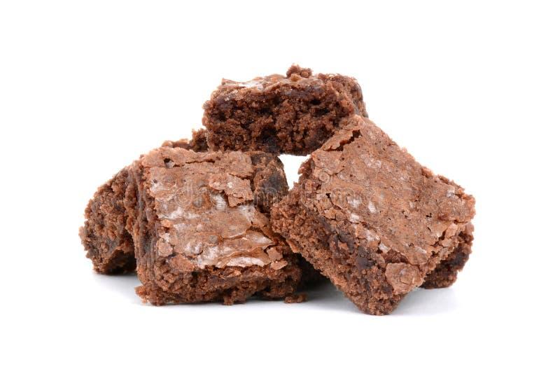 Brownie al forno fotografia stock libera da diritti