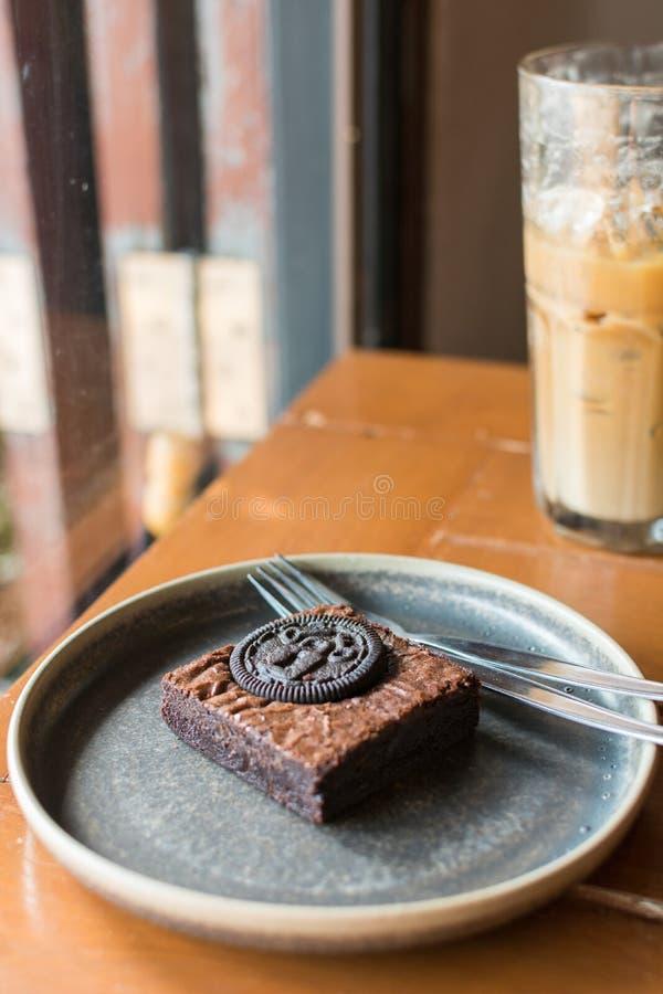 Brownie Cake stock foto's