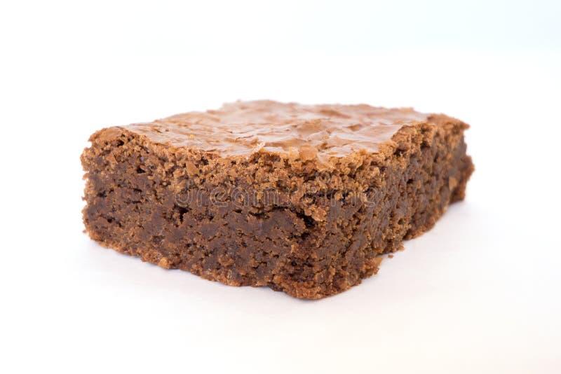 Brownie Closeup images libres de droits