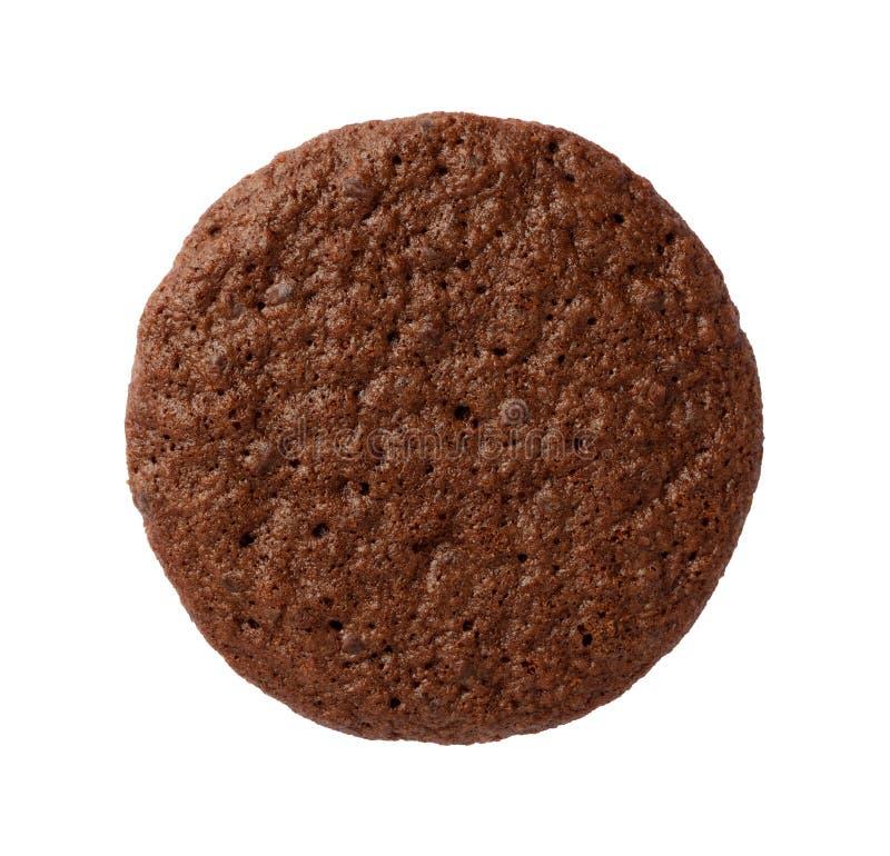 Brownie Cookie aisló imagen de archivo libre de regalías