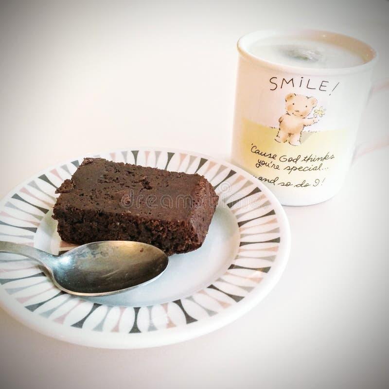 'brownie' de Vegan photographie stock