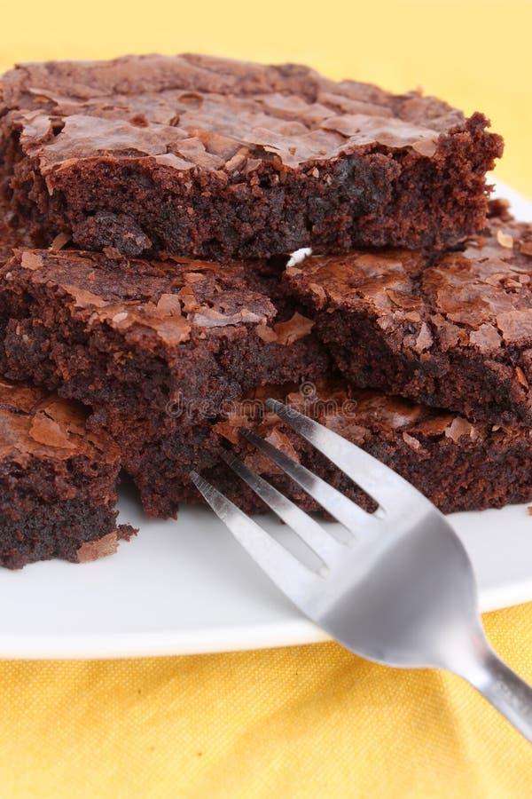Brownies foto de stock royalty free