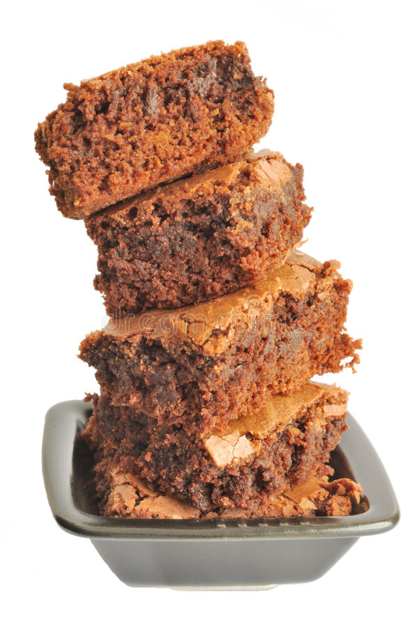 Download Brownies stock image. Image of unhealthy, cake, portion - 13268339
