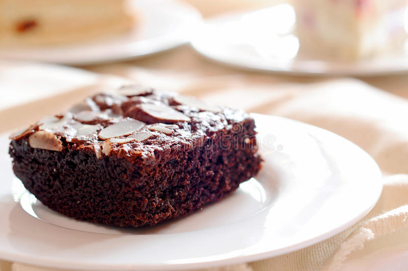 Download Brownies stock photo. Image of cake, homemade, frosted - 23058442
