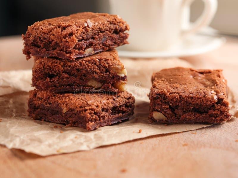 Download Brownies stock image. Image of food, horizontal, walnut - 29609313