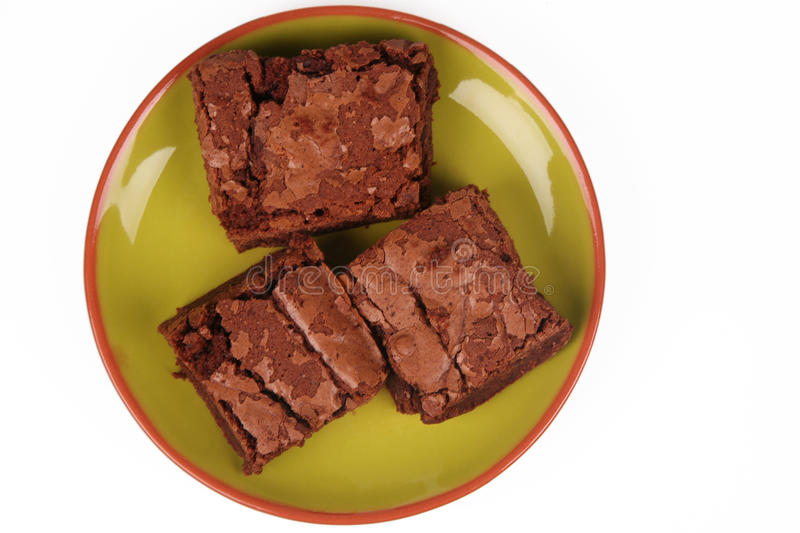 brownies lizenzfreie stockfotos