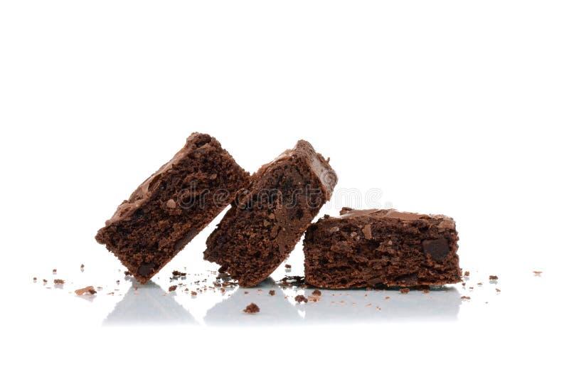brownies stock afbeeldingen