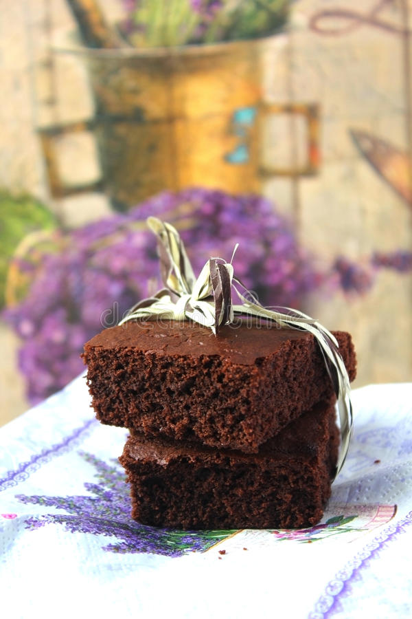brownies imagen de archivo