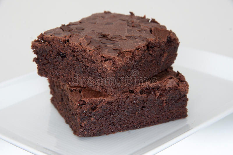brownies stockfotografie