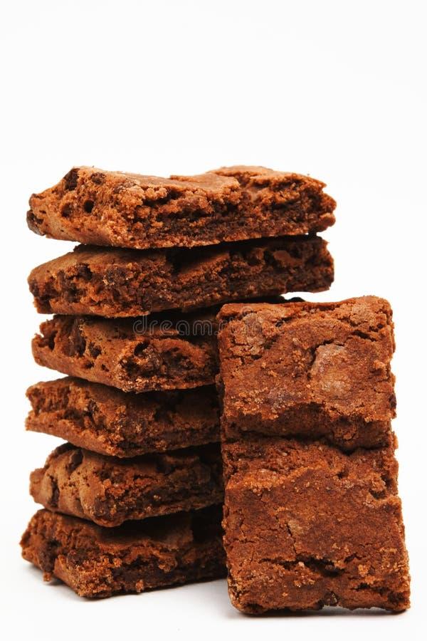 Brownies americanas foto de stock royalty free