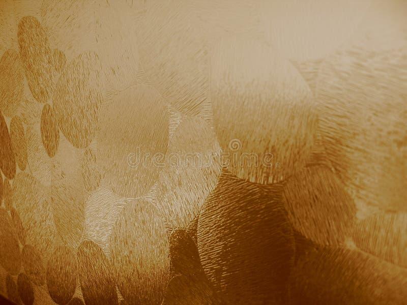 Brownish Exponeringsglas Texturerad Dragning Royaltyfria Foton
