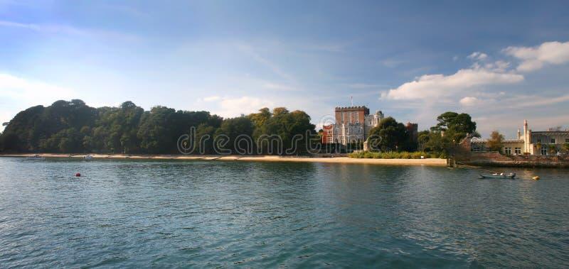 Brownsea Insel - Poole Hafen lizenzfreie stockbilder