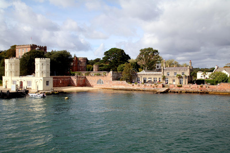 Brownsea wyspa, Poole, Dorset zdjęcia stock