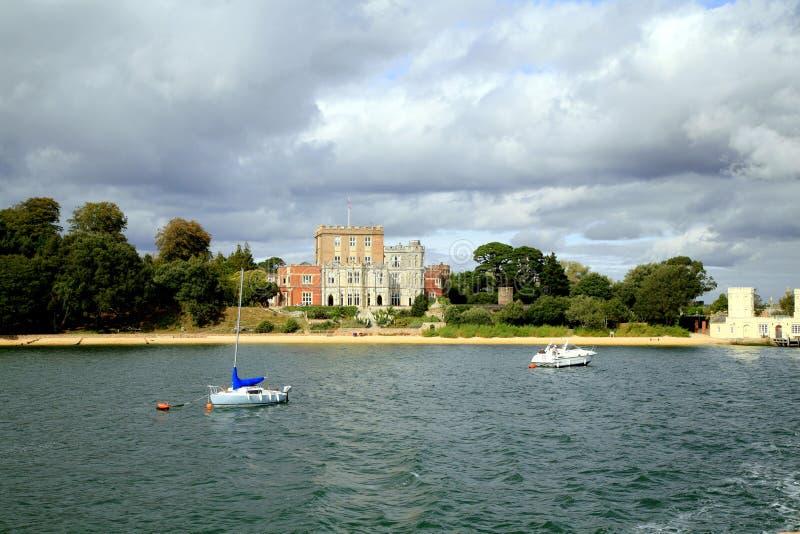 Brownsea wyspy kasztel, Poole fotografia royalty free