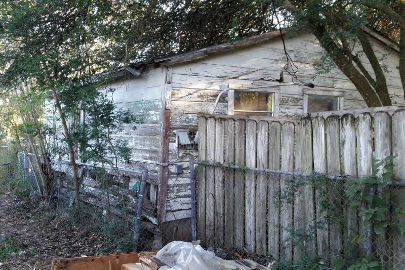 Brownsville, Texas Abandoned Shack foto de stock