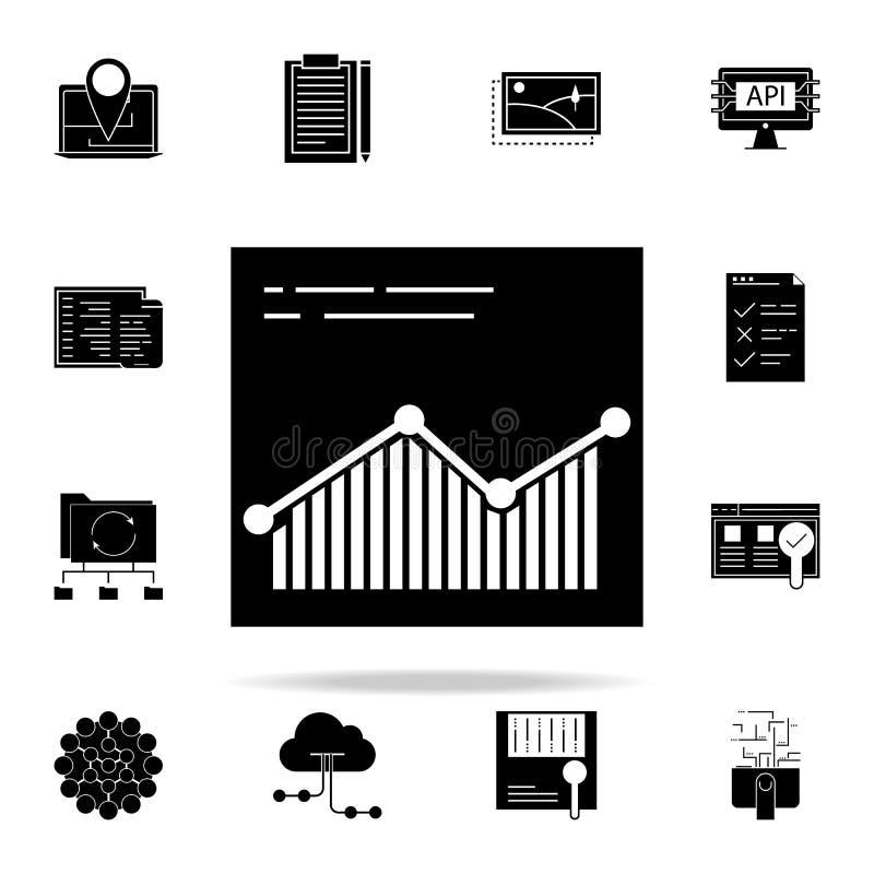 browsersite逻辑分析方法象 网和机动性的网发展象全集 库存例证