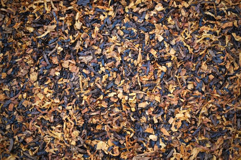 Dry tobacco texture background stock photos