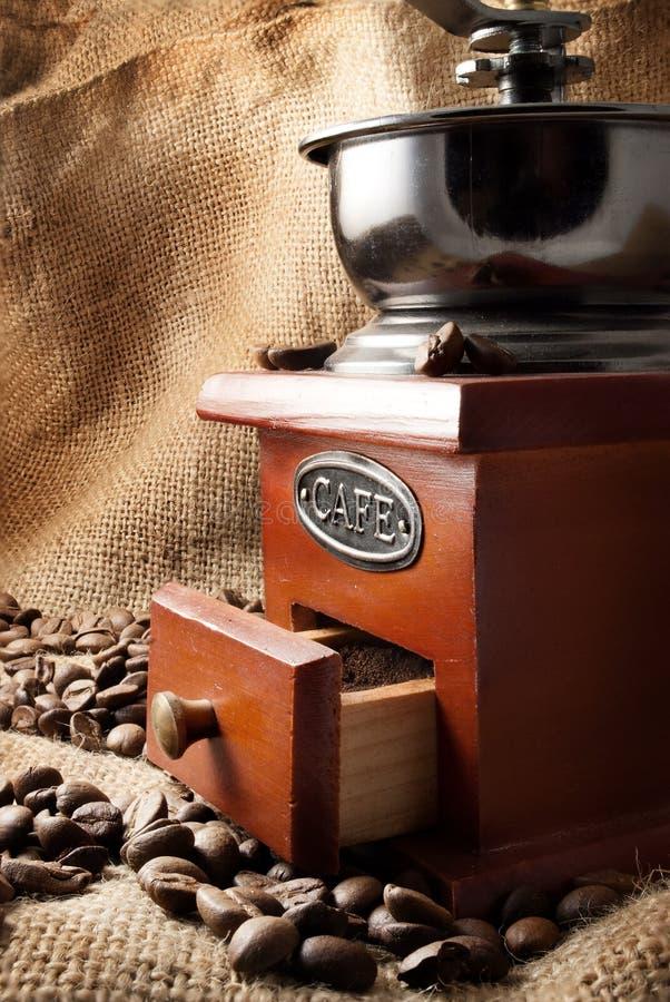 Broyeur de café. images stock