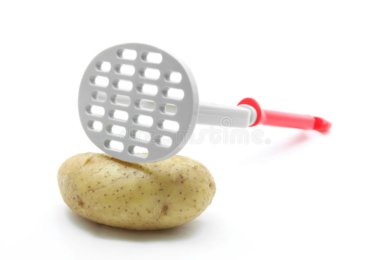Broyeur de pomme de terre images libres de droits