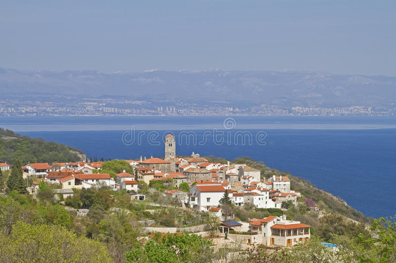 Download Brsec in Croatia stock image. Image of village, east - 26467517