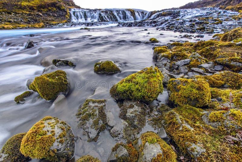 Bruarfoss, Islandia fotografía de archivo libre de regalías