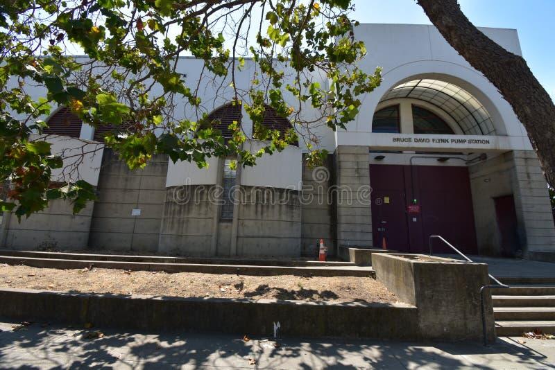 Bruce David Flynn Pump Station, 1 photo stock