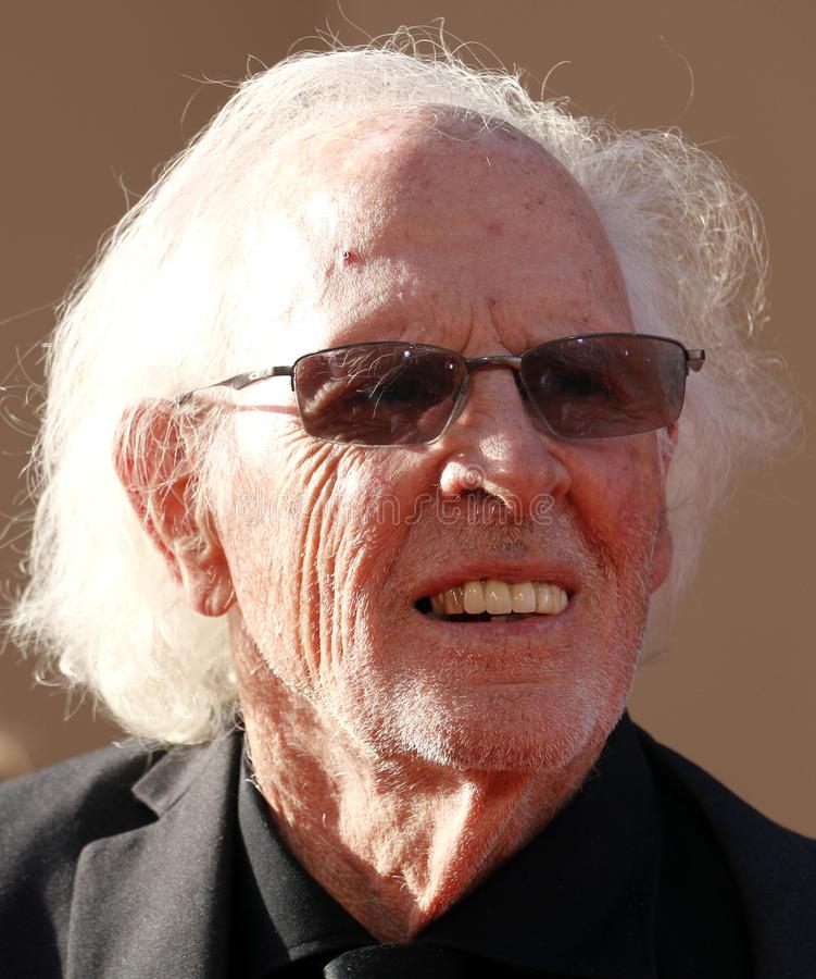 Bruce Dern. At the Los Angeles premiere of `Once Upon a Time In Hollywood` held at the TCL Chinese Theatre IMAX in Hollywood, USA on July 22, 2019 stock image