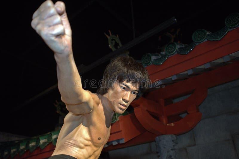 Bruce Lee, Σιγκαπούρη στοκ φωτογραφίες