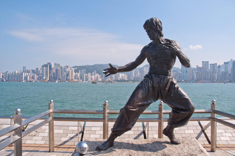Download Bruce Lee editorial stock photo. Image of tourism, city - 27321973
