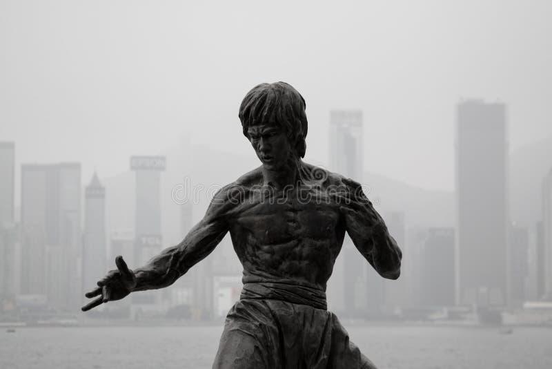 Bruce Lee arkivfoton