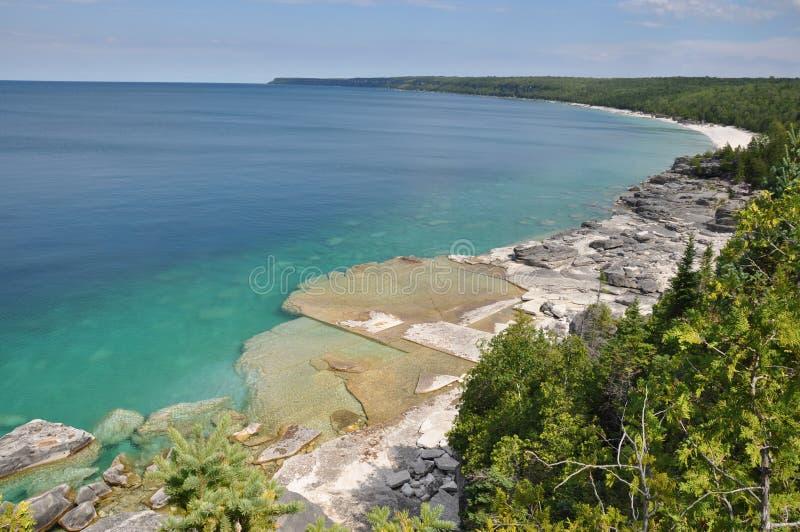 Bruce Peninsula, Ontario photos libres de droits