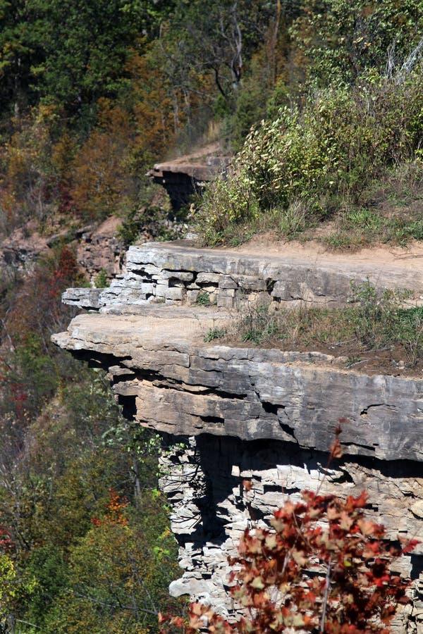 Bruce Trail bana royaltyfri fotografi