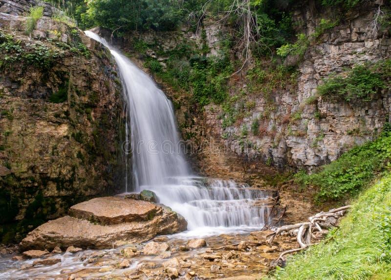 Bruce Trail, Walters Falls, Owen Sound photographie stock libre de droits