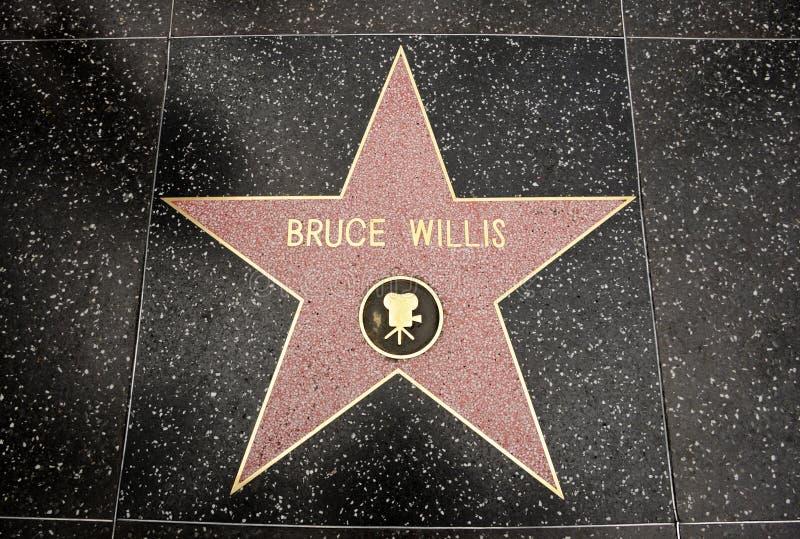 bruce willis αστεριών στοκ φωτογραφίες