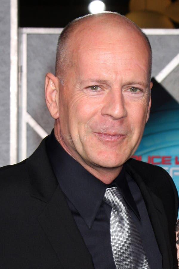 Bruce Willis royalty free stock photo