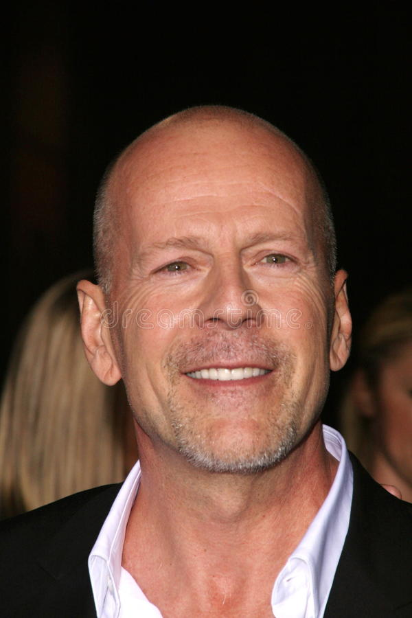 Bruce Willis royalty-vrije stock foto's
