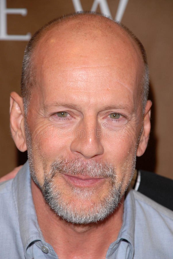 Bruce Willis stock fotografie