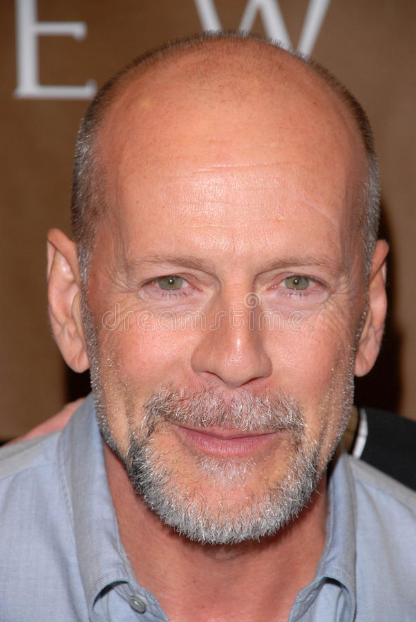 Bruce Willis royalty-vrije stock foto