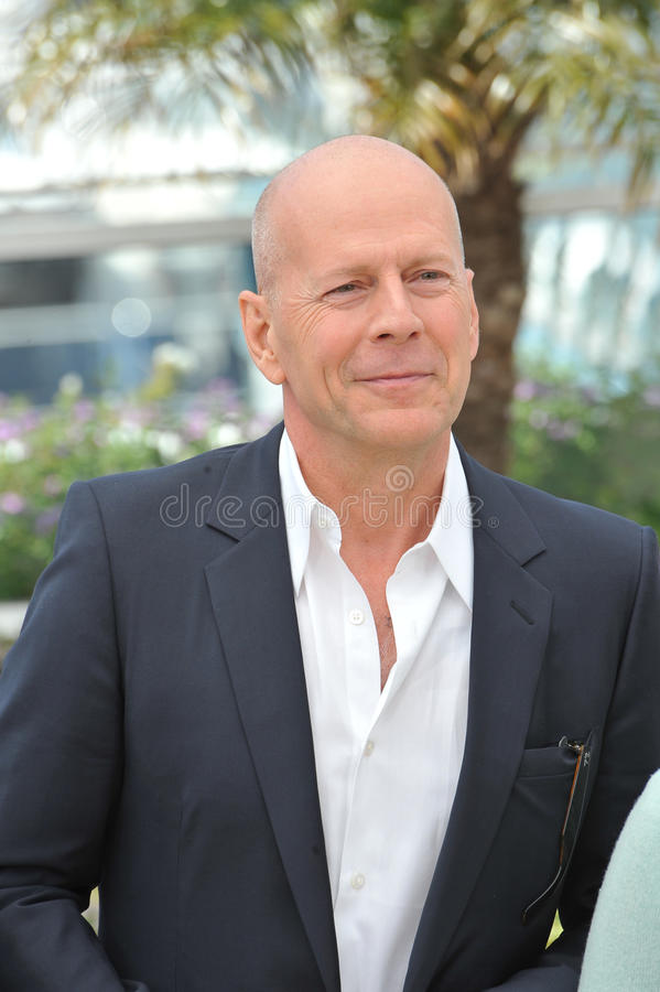 Bruce Willis obrazy royalty free