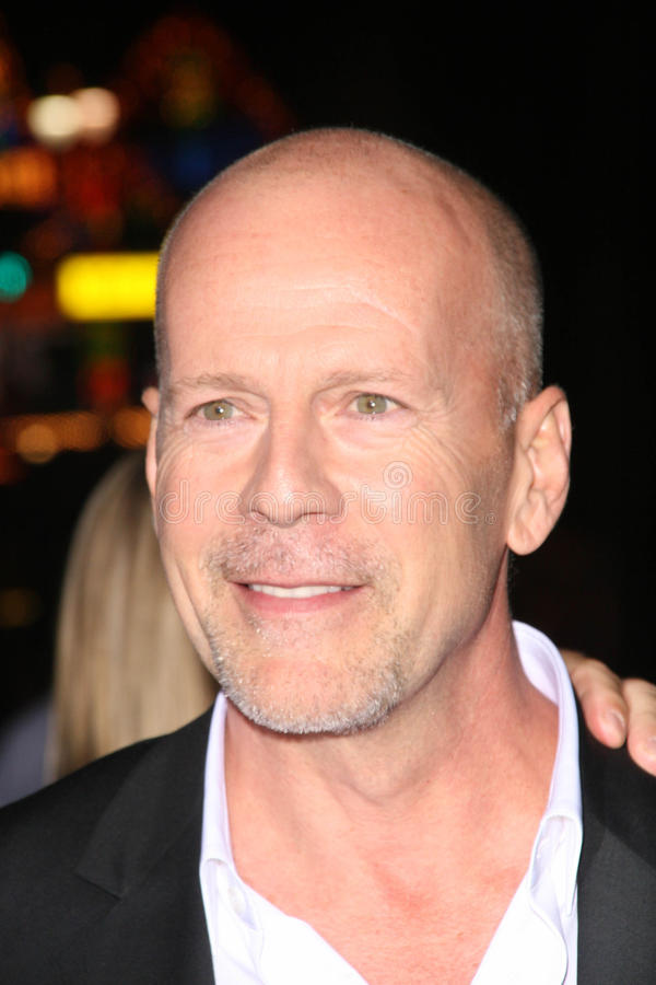 Bruce Willis stock foto