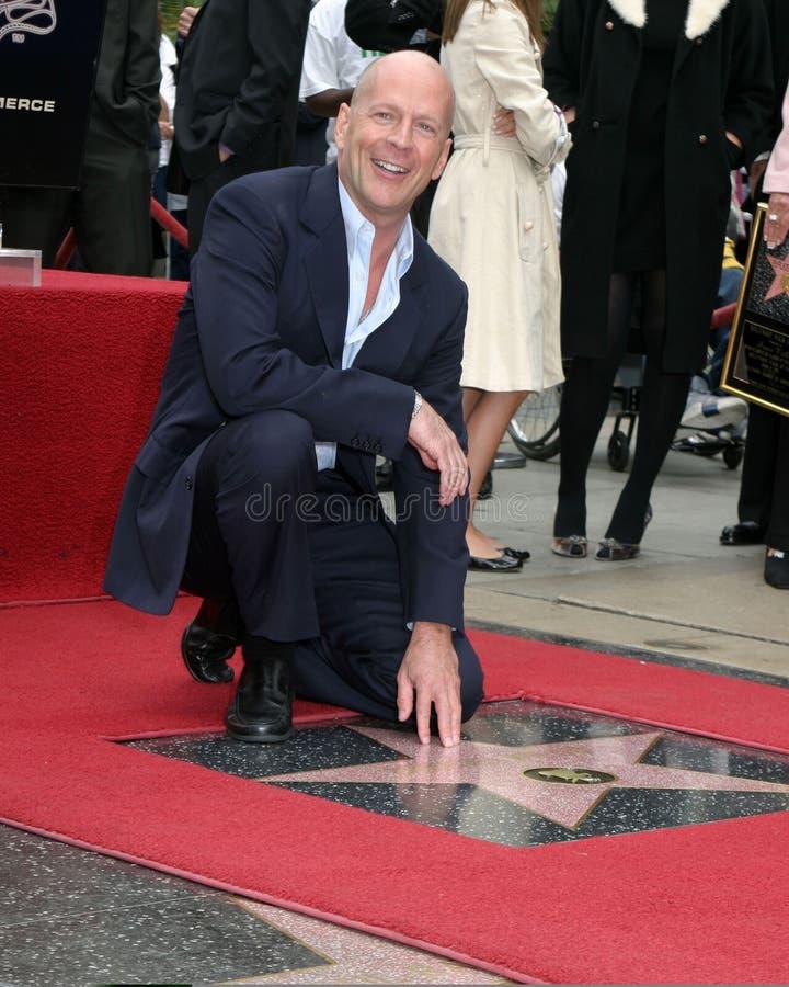 Bruce Willis royaltyfri fotografi