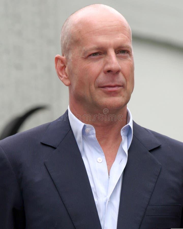 Bruce Willis royaltyfria foton