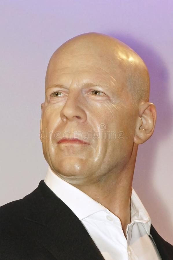 Bruce Willis royalty free stock photography