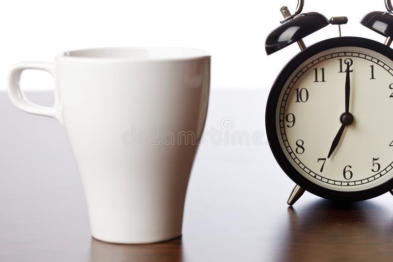Bruch für Kaffee stockfoto