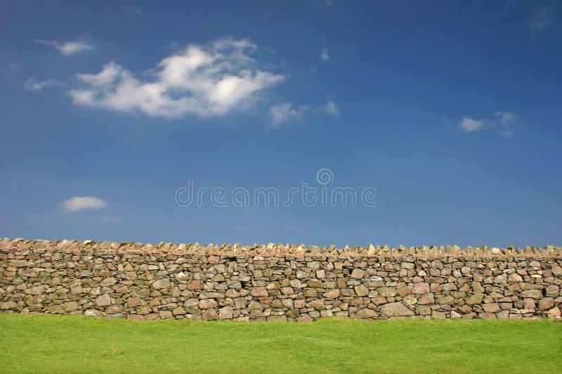 Bruchstein-Wand stockbild