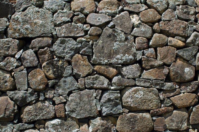 Bruchsteinwand stockbild