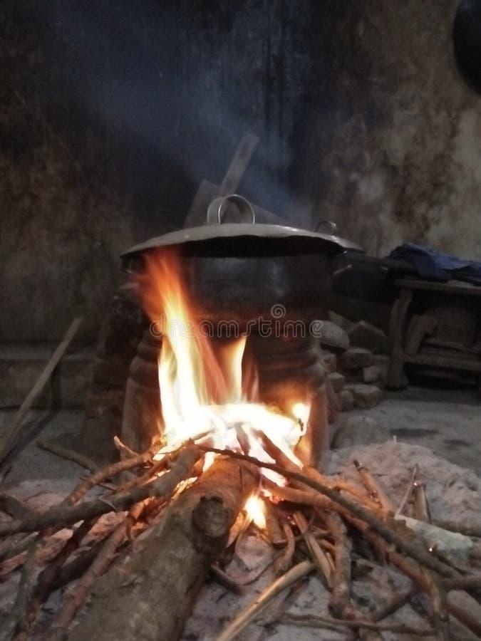 bruciarsi fotografie stock